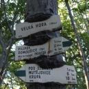 Nenasytná příroda požírá turistické značení