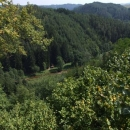 Pohled z Víckova do údolí Bobrůvky