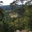 Výhled z hradu Košíkov