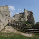 Na hradě Beckově