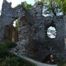 Na hradě Tematín