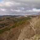Výhled z Kalicha severním směrem