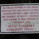 Na hrad Koštálov vstup zakázán (na jak dlouho?)