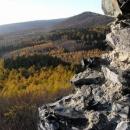 Modřínový podzim na Hrádku