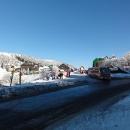 Za nádherného počasí opouštíme Červenohorské sedlo ve výšce 1.013 metrů