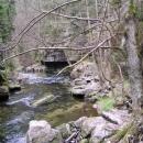 V Divoké soutěsce řeka Kamenice