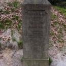Kamenný ukazatel u Mezní Louky