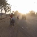 Za úsvitu míříme do centra Dillí