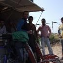 Zastavení u hodných Indů ve stínu, Míla už z vedra nemůže