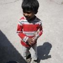Radost v dětských očích z darovaného pravítka