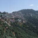 Shimla, bývalé letní hlavní město anglické Indie vysoko v horách