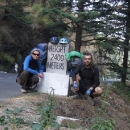 To jen stoupáme do hor ze Shimly, v této nadmořské výšce už je příjemně