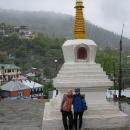 Konečně něco tibetského, gompa v Kalpě