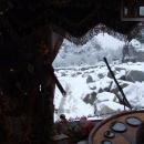 Za okny se objevuje sníh, no nazdar