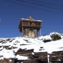 Stará věžovitá stavba v Chitkulu