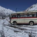 Náš autobus ještě stojí ve vsi, my zahajujeme sjezd