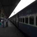 V Kalce přestupujeme na normální vlak