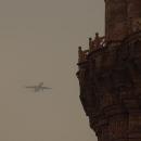 Nad hlavami nám nalétávají letadla k letišti, znamení, že zítra Indii opouštíme