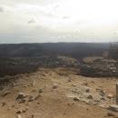 Výhled k bližším vrcholkům, kde jsme byli den předtím