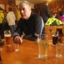 A tady se vařilo a pivo, kofola a hroznovka točilo, a Demänovka zahřála.