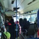 Hned první den vyráží Luděk autobusem na Soláň