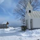 A cestou hřebenové kostelíčky