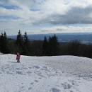Vrstva sněhu je souvislá a výhledy nemají chybu.
