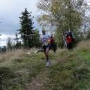 Jeden z maratonských běžců