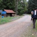 Sedlo nad Janovičkami (polsky Przelecz pod Czarnochem). V létě jsme tudy do Čech přejížděli na kole.