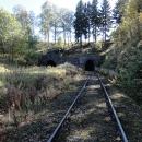 Čeká nás skoro 2 kilometry dlouhý tunel. Můžeme si vybrat :-)