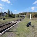 Swierki Dolne, zde čekáním na vlak zakončujeme vandr.