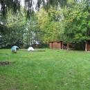 Tábořiště pod Pulčínskými skalami - závidíme těm, co tu spali, ale dokud si děti neunesou batoh, musíme chodit na túry s noclehy po chatách.
