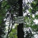 Makyta, 923 m. Výrazný vrchol v Javorníkách...