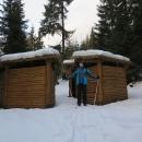 Poláci staví zajímavé přístřešky, v něčem podobném jsme spali při pěším vandru přes Javoří hory