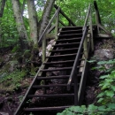 Schody vedoucí na hrad Lopata