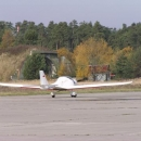 MIG míří do hangáru :-)