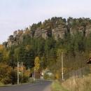 Skalní stěna u Svojkova