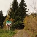 """""""Silnice"""" v Bystřických horách"""
