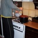 Vánoce 2006 - Luděk smaží kapra