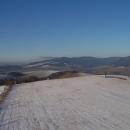 Pohled z rozhledny na Králický Sněžník
