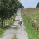 Po cyklostezce k Dolnímu Dvořišti, hned vedle vede hranice