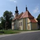 Poutní kostel ve Svatém Kameni