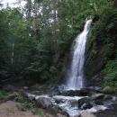 Umělý vodopád v Terčině údolí u Nových hradů