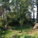 Hradní návrší hradu Velešín
