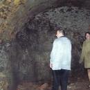 Ve svitu slabé baterky toho v podzemí hradu mnoho nevidíme