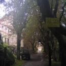 Na hrad Hřebeny (Hartenberk) je vstup zakázán, přesto tam jdeme...