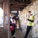 Dneska si zahrál na průvodce po hradu Luděk