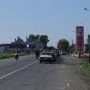 Přijíždíme k přechodu do Rumunska v Djakovu, ale prý na kole nemůžeme přejet
