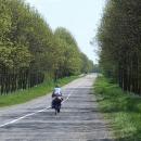 Malé připomenutí, že jízda po Ukrajině může být jízdou dlouhými rovinami