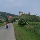 Blížíme se k hradu Velký Kamenec
